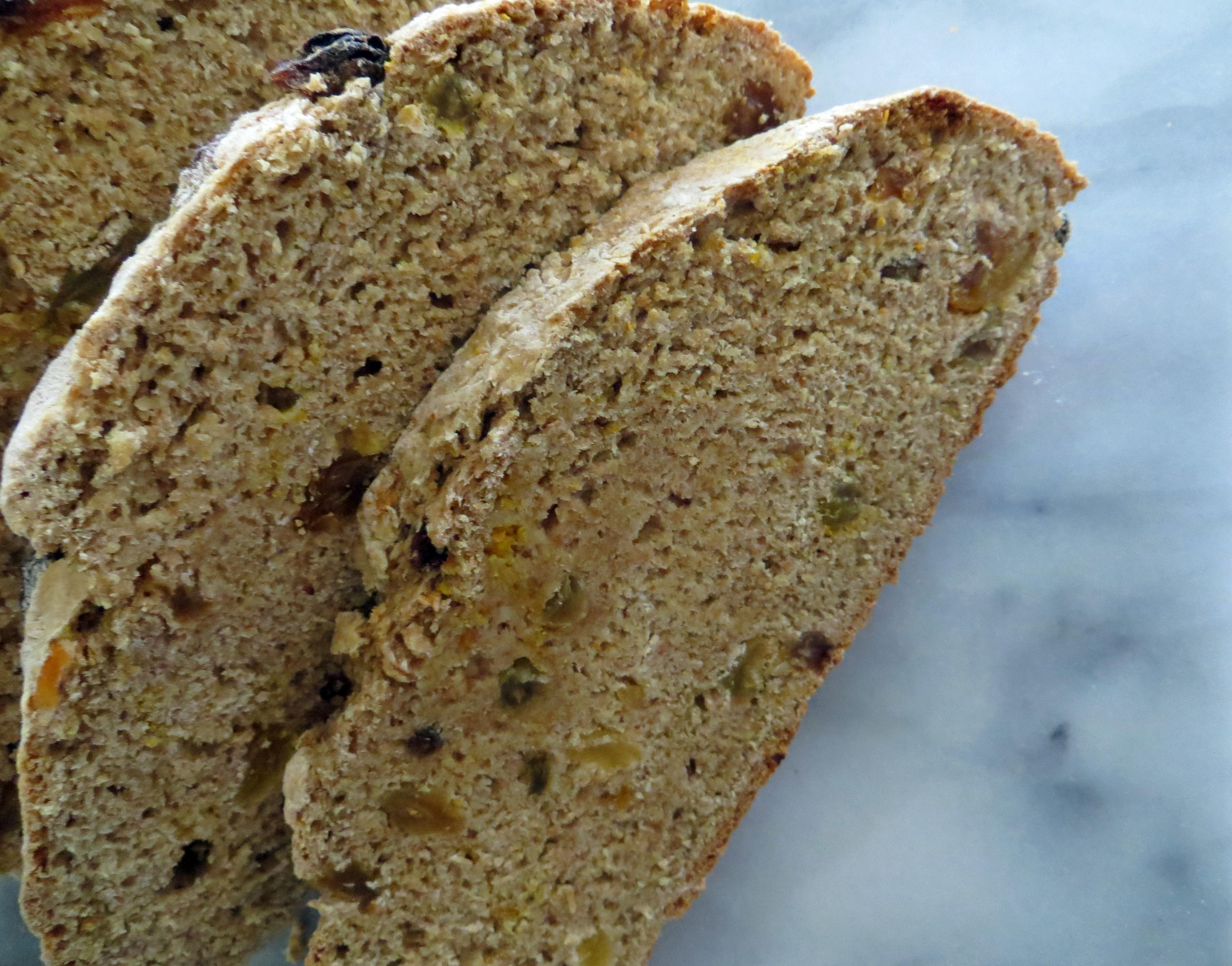 Healthy Irish Soda Bread Recipe  Healthy Irish Soda Bread taffeta and tulips