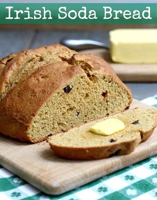 Healthy Irish Soda Bread  Irish Soda Bread Recipe Real Food Real Deals
