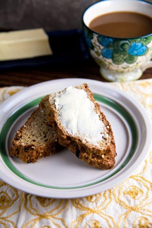 Healthy Irish Soda Bread  Whole Grain Irish Soda Bread