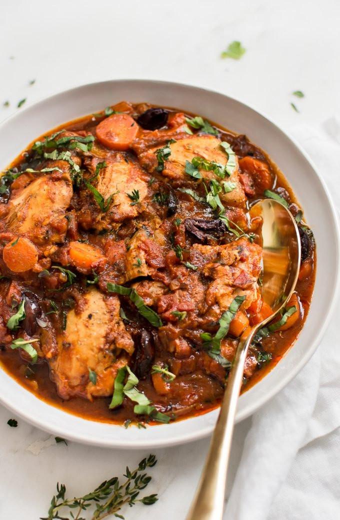 Healthy Italian Chicken Recipes  Easy Instant Pot Chicken Cacciatore • Salt & Lavender