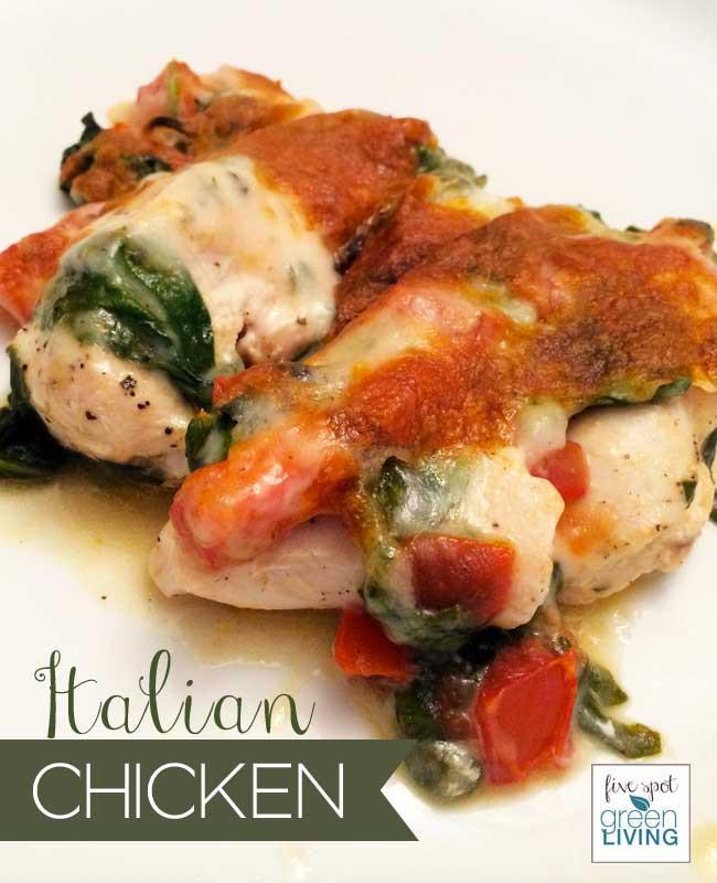Healthy Italian Chicken Recipes  Easy Cheesy Italian Chicken Recipe with Tomatoes and