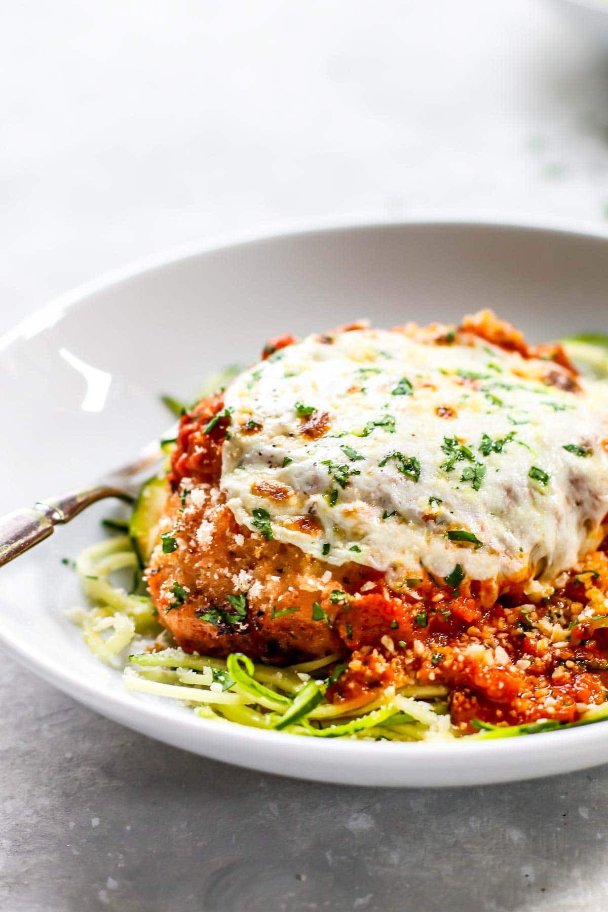 Healthy Italian Chicken Recipes  20 Minute Healthy Chicken Parmesan Recipe Pinch of Yum