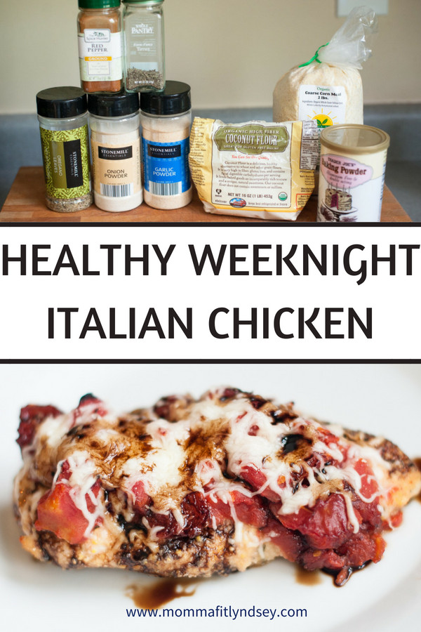 Healthy Italian Chicken Recipes  Healthy Italian Chicken Recipe Weeknight Cooking Momma