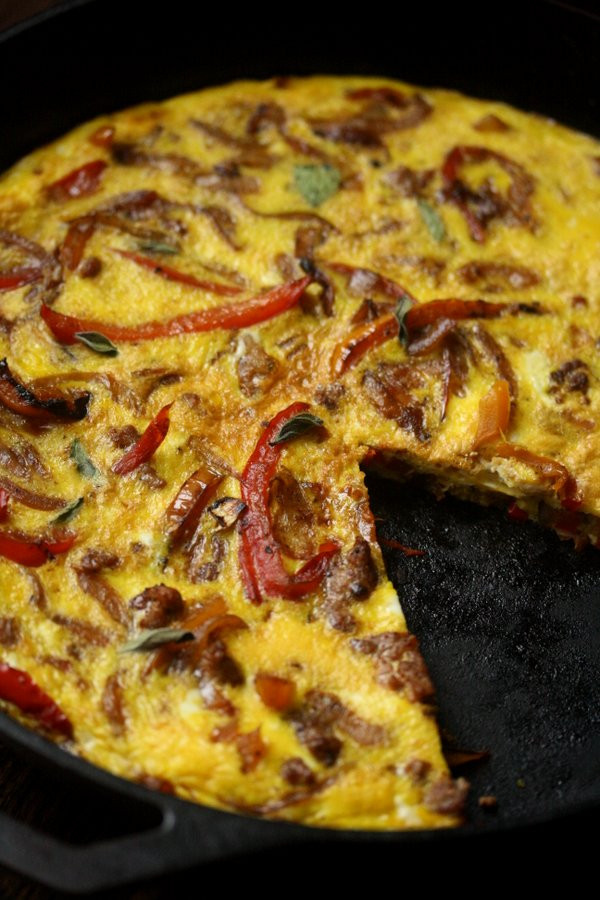 Healthy Italian Sausage Recipes 20 Of the Best Ideas for Easy Sausage Pepper and Ion Frittata Recipe