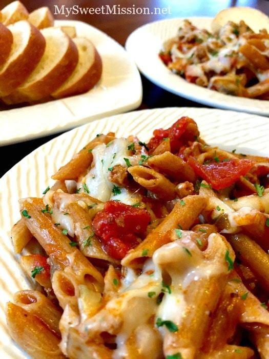 Healthy Italian Sausage Recipes  e Pot Sweet Italian Sausage Pasta My Sweet Mission