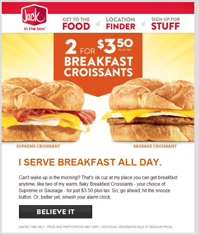 Healthy Jack In The Box Breakfast  Coupon sherpa jack in the box Ocharleys coupon nov 2018