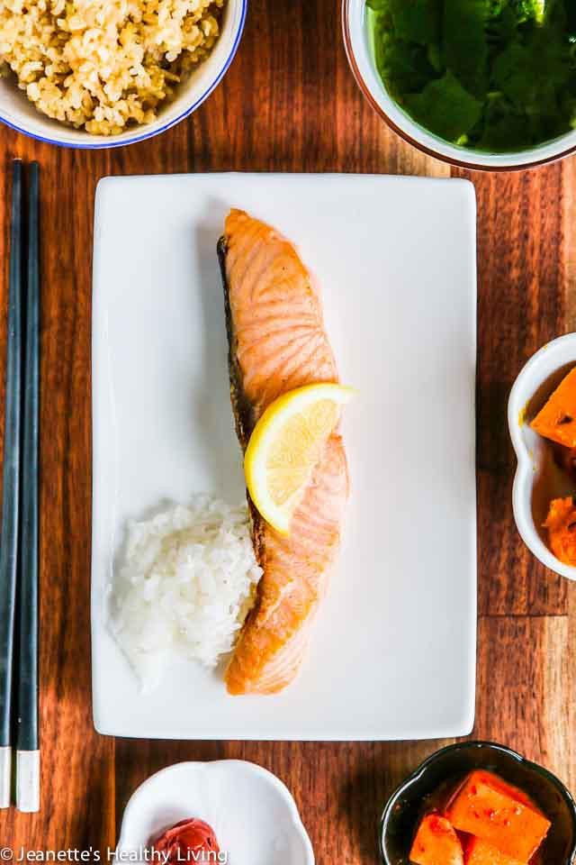 Healthy Japanese Breakfast  Japanese Breakfast Salmon Recipe Jeanette s Healthy Living