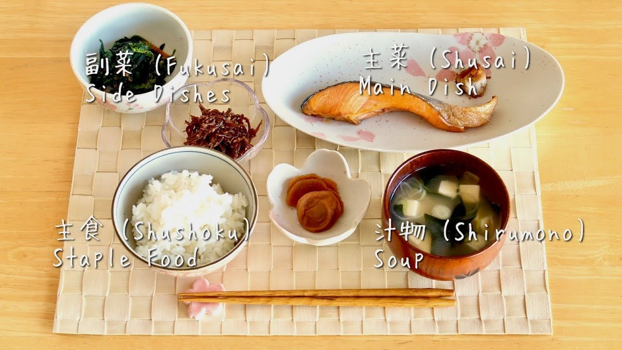 Healthy Japanese Breakfast  How to Make Japanese Breakfast Recipe Ideas