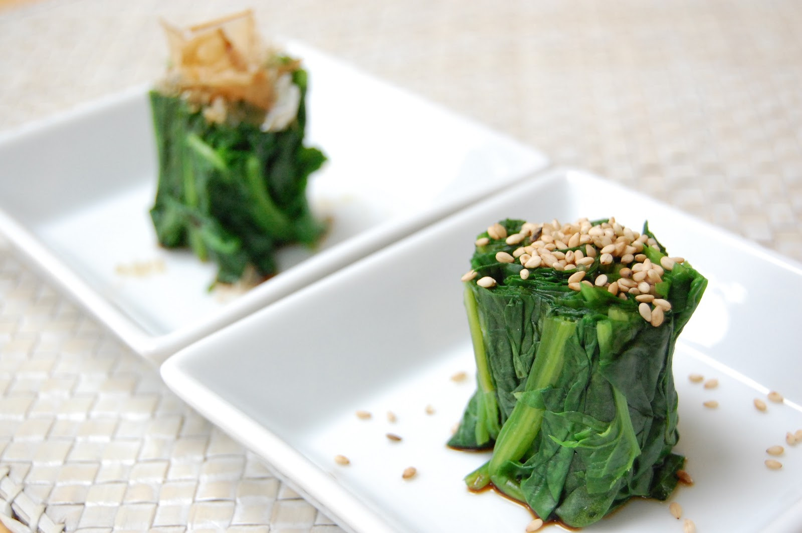 Healthy Japanese Recipes  Fiona s Japanese Cooking Healthy Japanese Spinach Salad