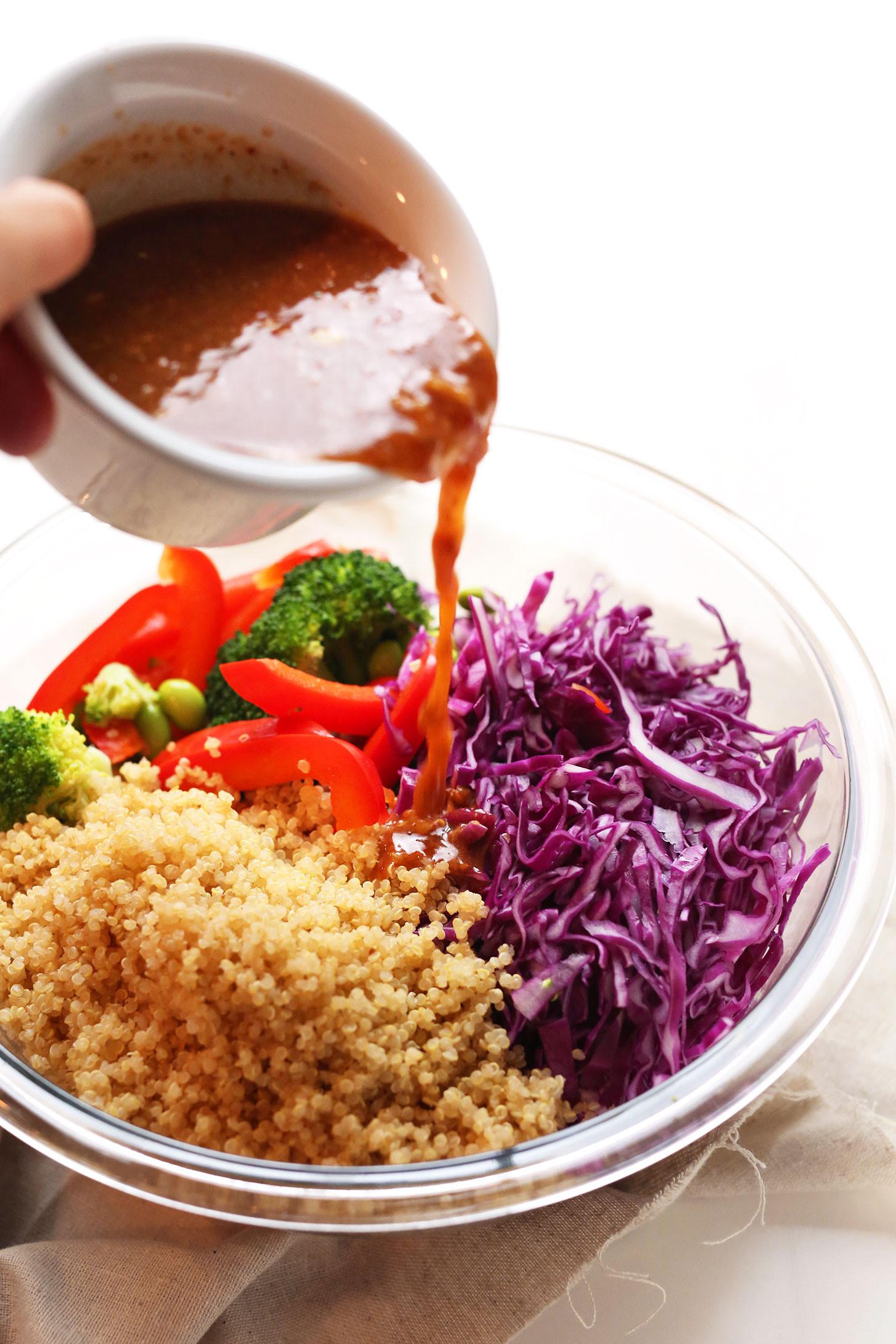Healthy Japanese Recipes  Asian Quinoa Salad