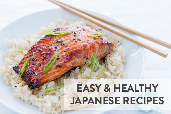 Healthy Japanese Recipes  12 Easy & Healthy Japanese Recipes • Just e Cookbook