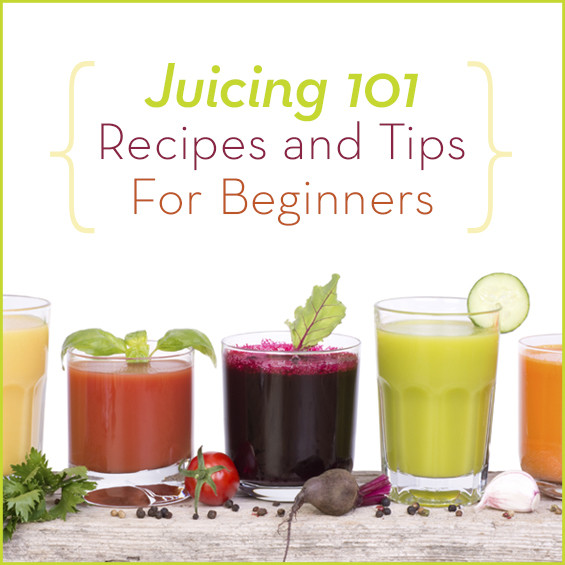 Healthy Juice Recipes  green juice recipes for beginners