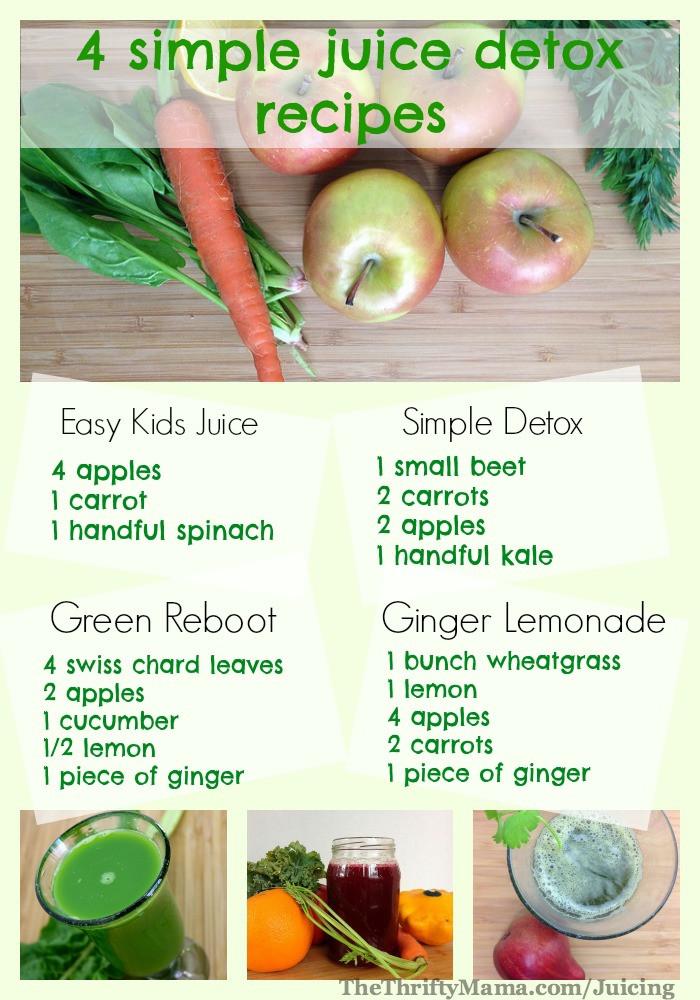Healthy Juice Recipes  Healthy Juicing Recipes 4 simple and easy juice recipes