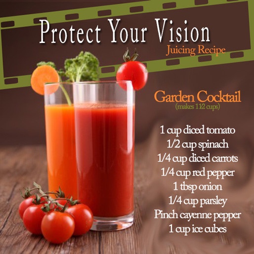 Healthy Juice Recipes  Tasty Thursday Protect Your Vision Juicing Recipe