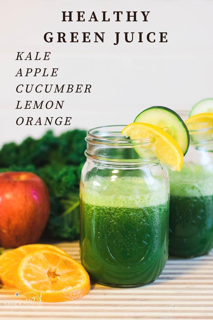 Healthy Juice Smoothies  Fit & Healthy Jucie Recipe Green Juice Kale Juice Detox