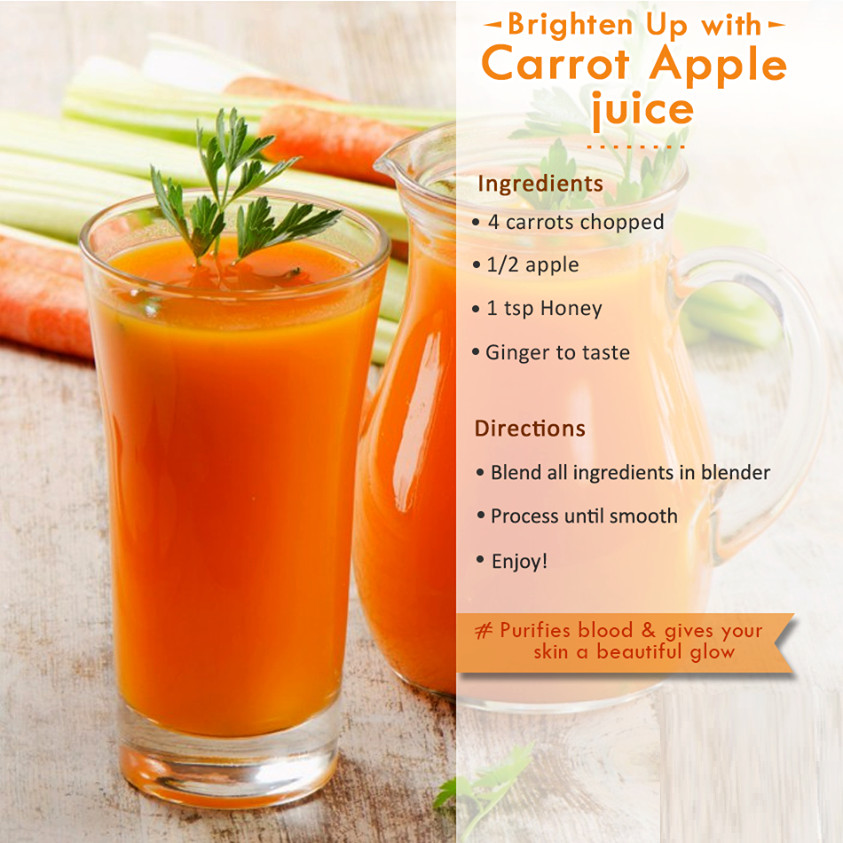 Healthy Juice Smoothies  carrot and orange smoothie benefits