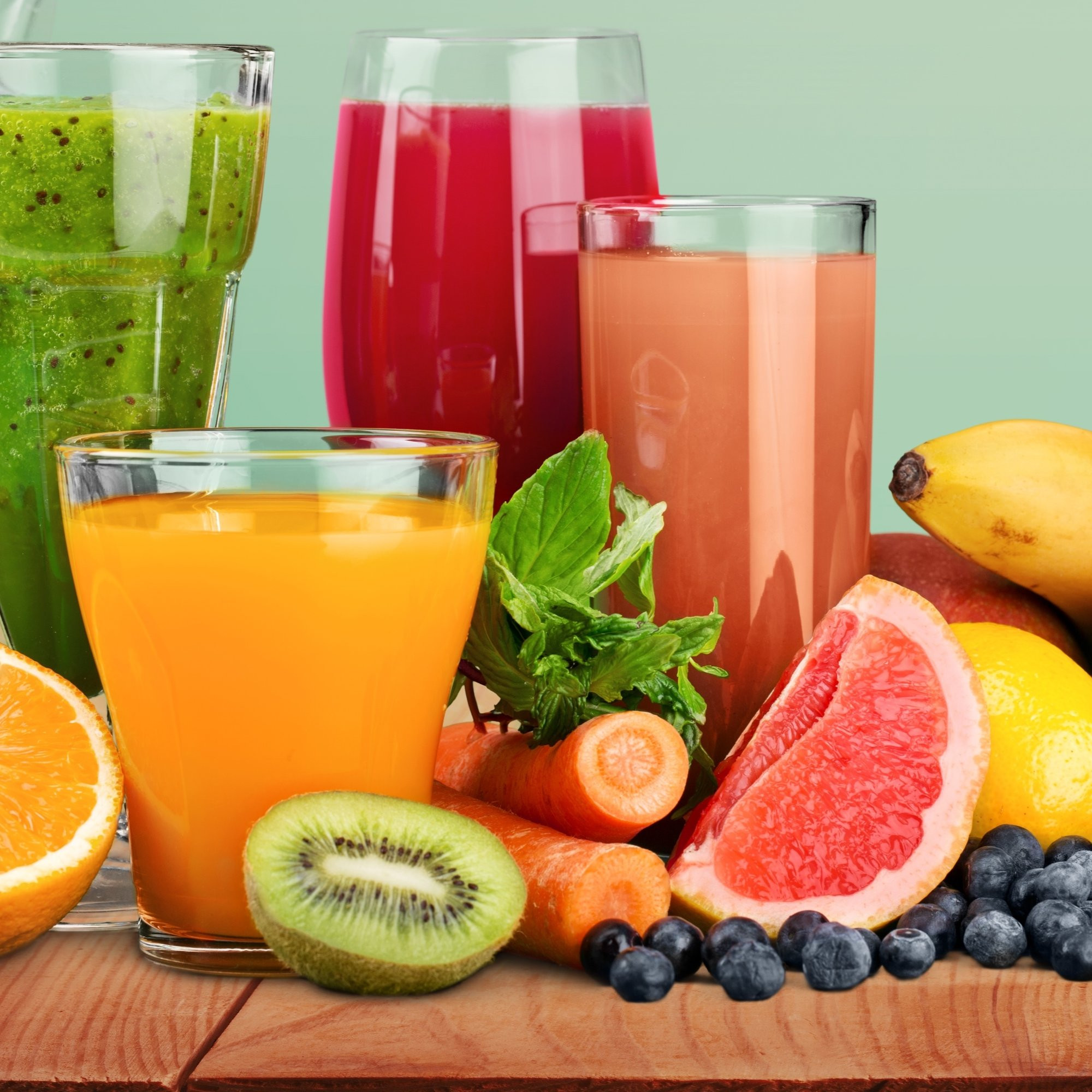 Healthy Juice Smoothies  Juice or Smoothie Which e Is Healthier Nutrition