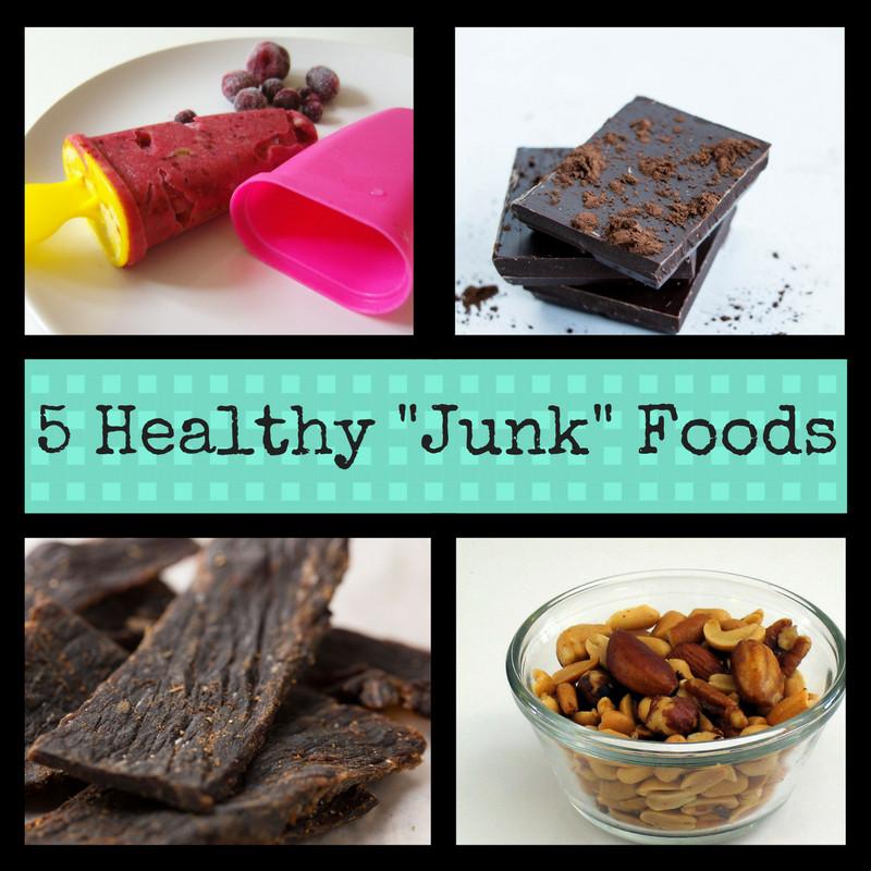 "Healthy Junk Food Snacks  5 Healthy 'Junk"" Foods"