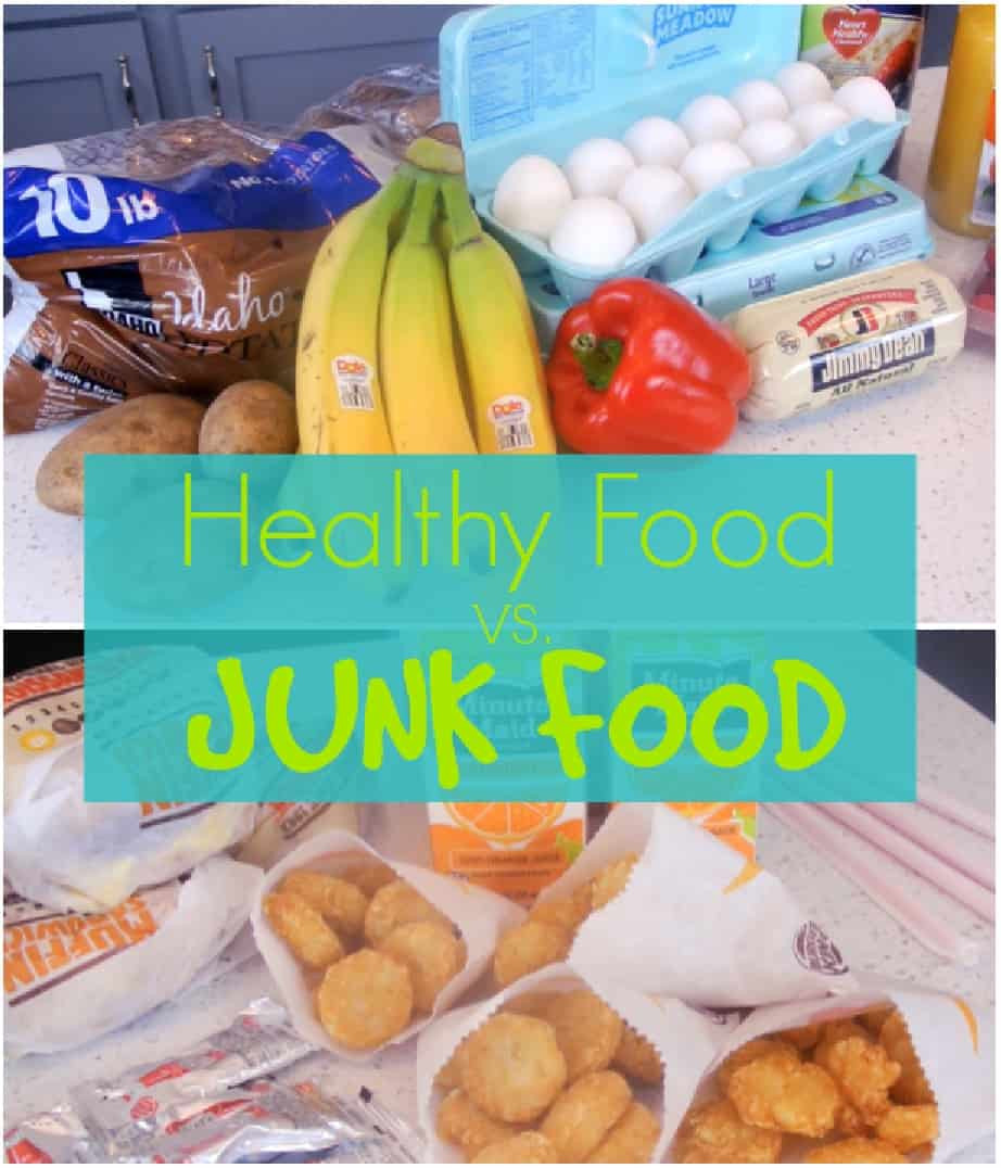 Healthy Junk Food Snacks  Clean Eats vs Junk food