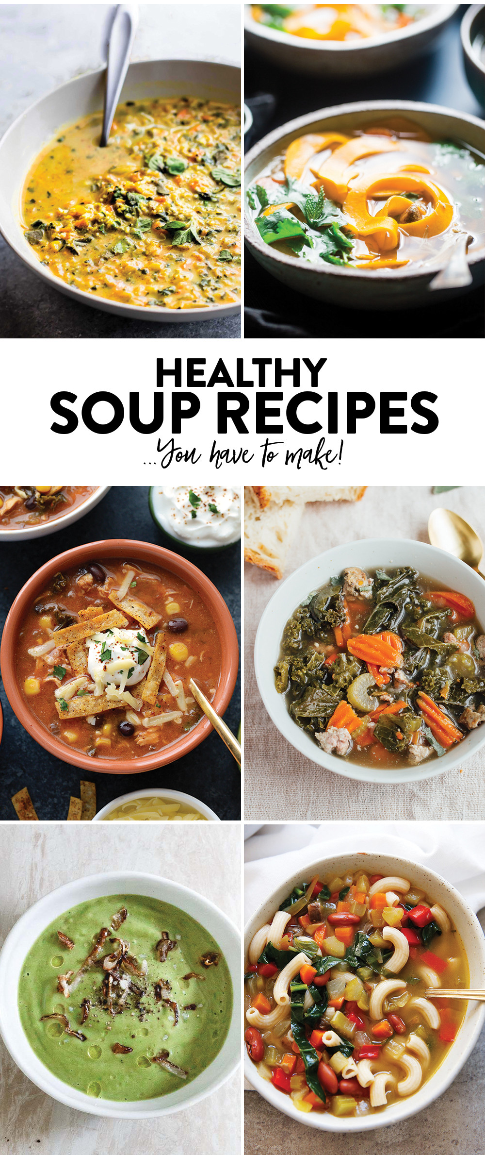 Healthy Kale Recipes  Curried Cauliflower Rice Kale Soup Paleo Vegan