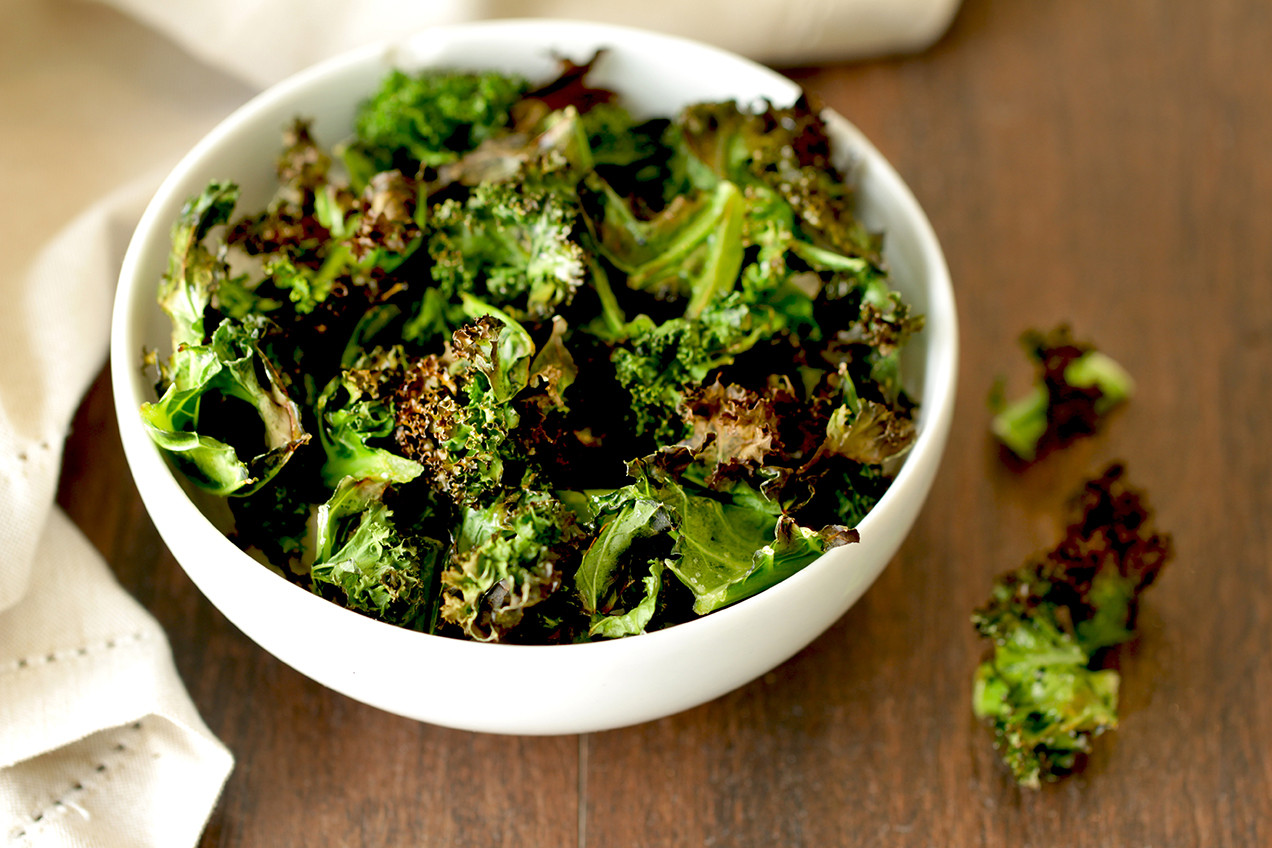 Healthy Kale Recipes  Baked Kale Chips