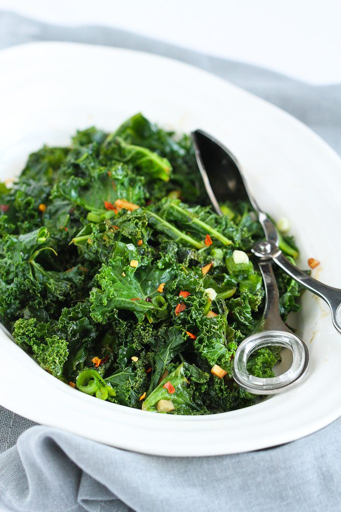 Healthy Kale Recipes  Spicy Sauteed Kale 5 Other Healthy Kale Recipes