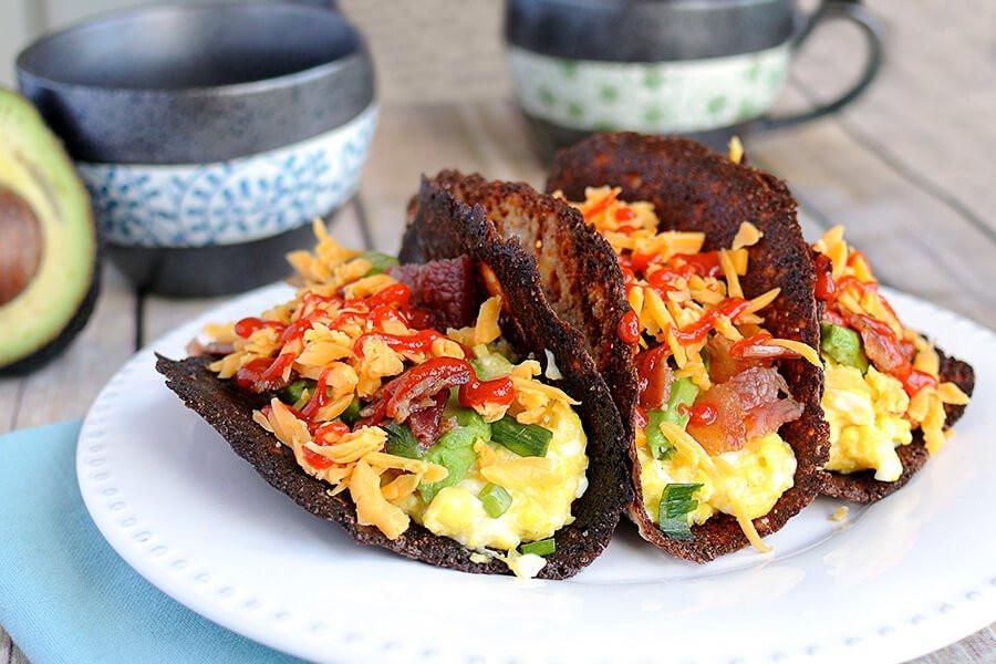Healthy Keto Breakfast  Keto Breakfast Tacos