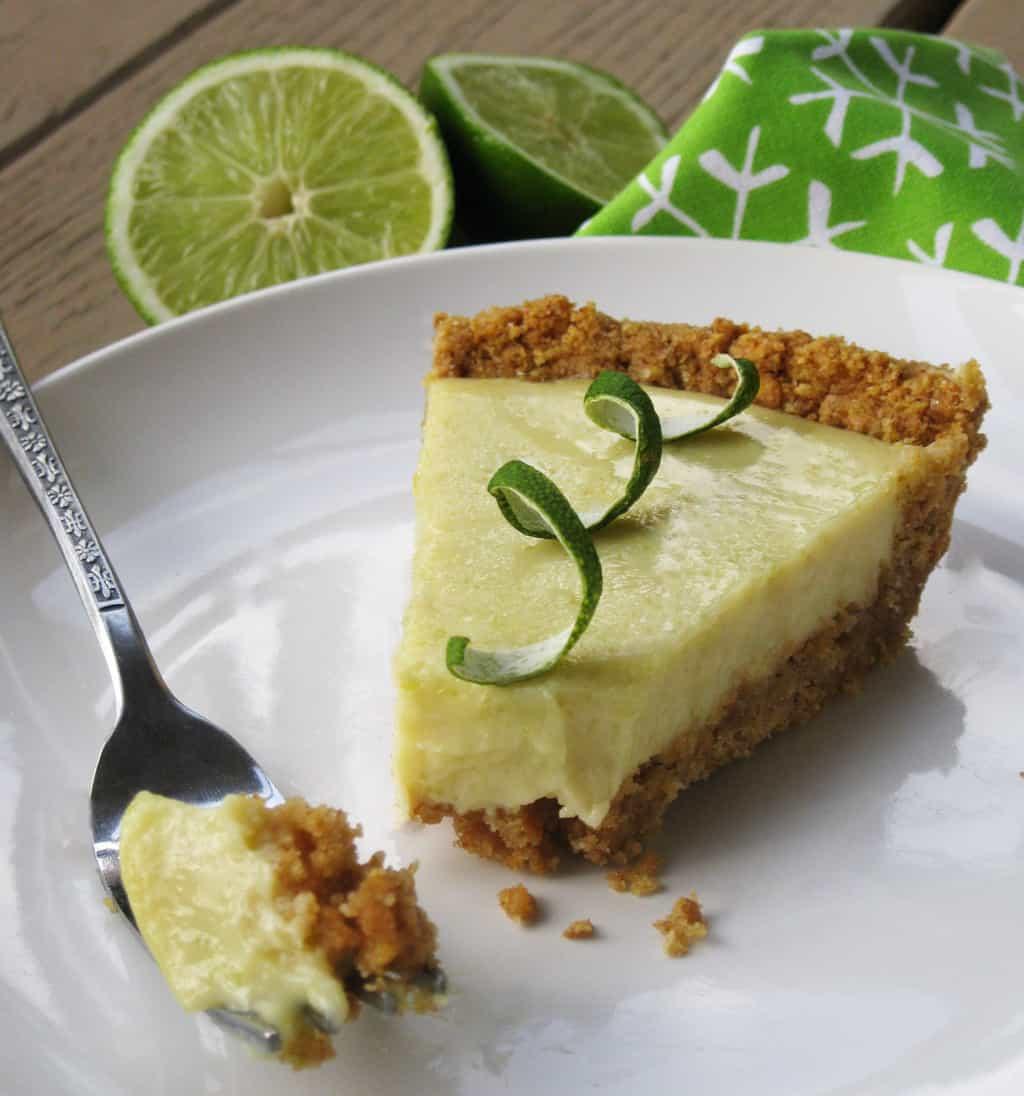 Healthy Key Lime Pie  Healthy Key Lime Pie Recipe