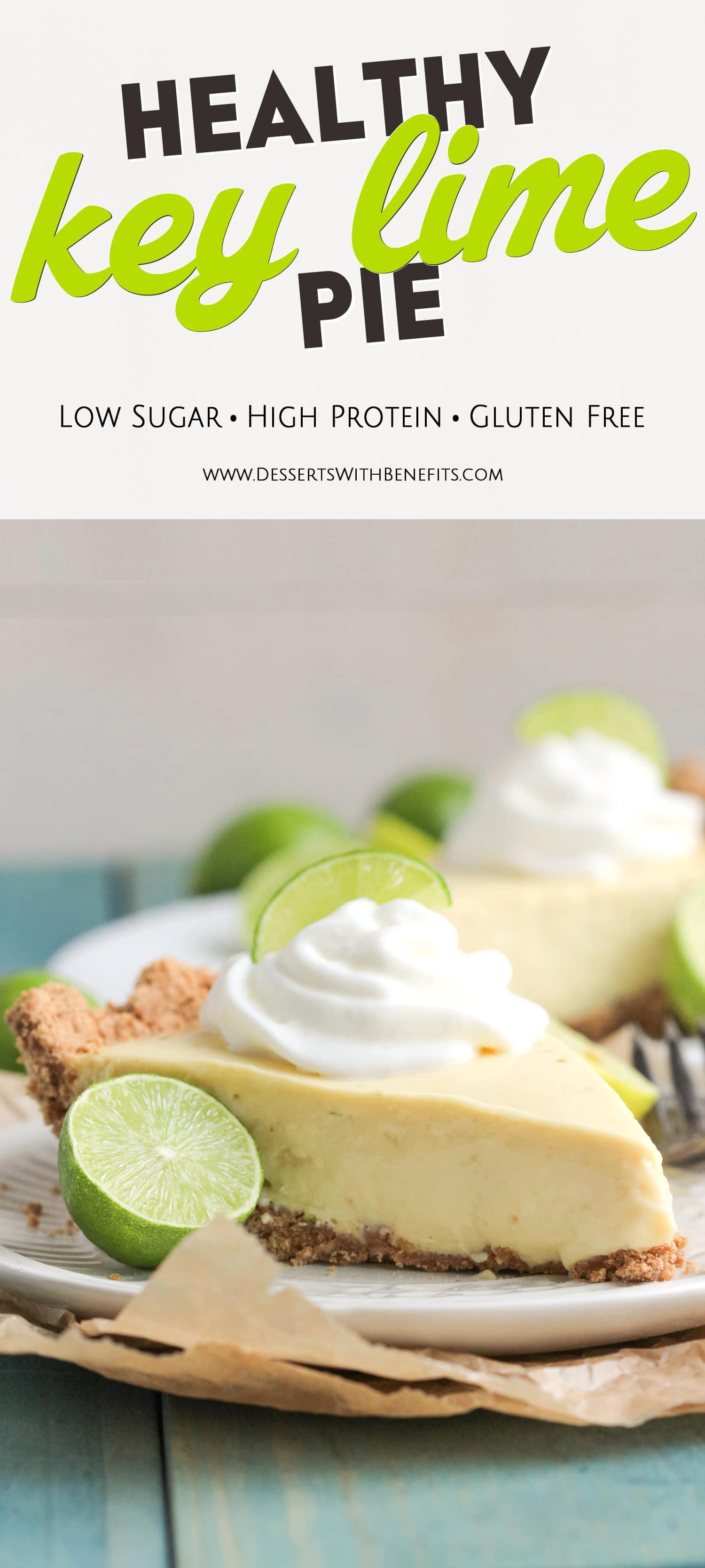 Healthy Key Lime Pie  Easy Healthy Key Lime Pie Recipe