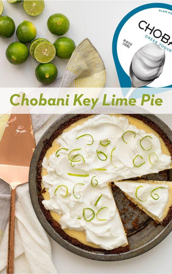 Healthy Key Lime Pie Greek Yogurt  1042 best Baked with Chobani images on Pinterest