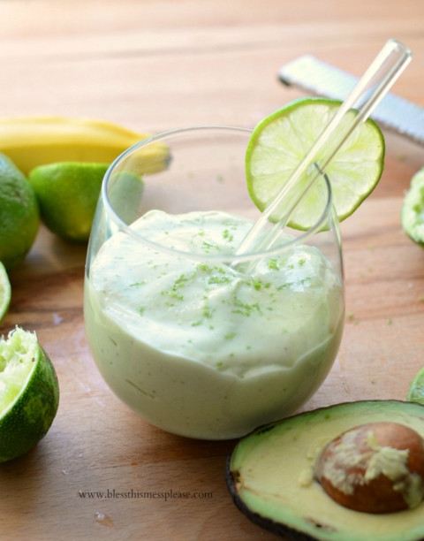 Healthy Key Lime Pie Greek Yogurt  Healthy Key Lime Pie Smoothie Bless This Mess