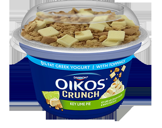 Healthy Key Lime Pie Greek Yogurt  Dannon Oikos Crunch Greek Yogurt – Key Lime Crumble
