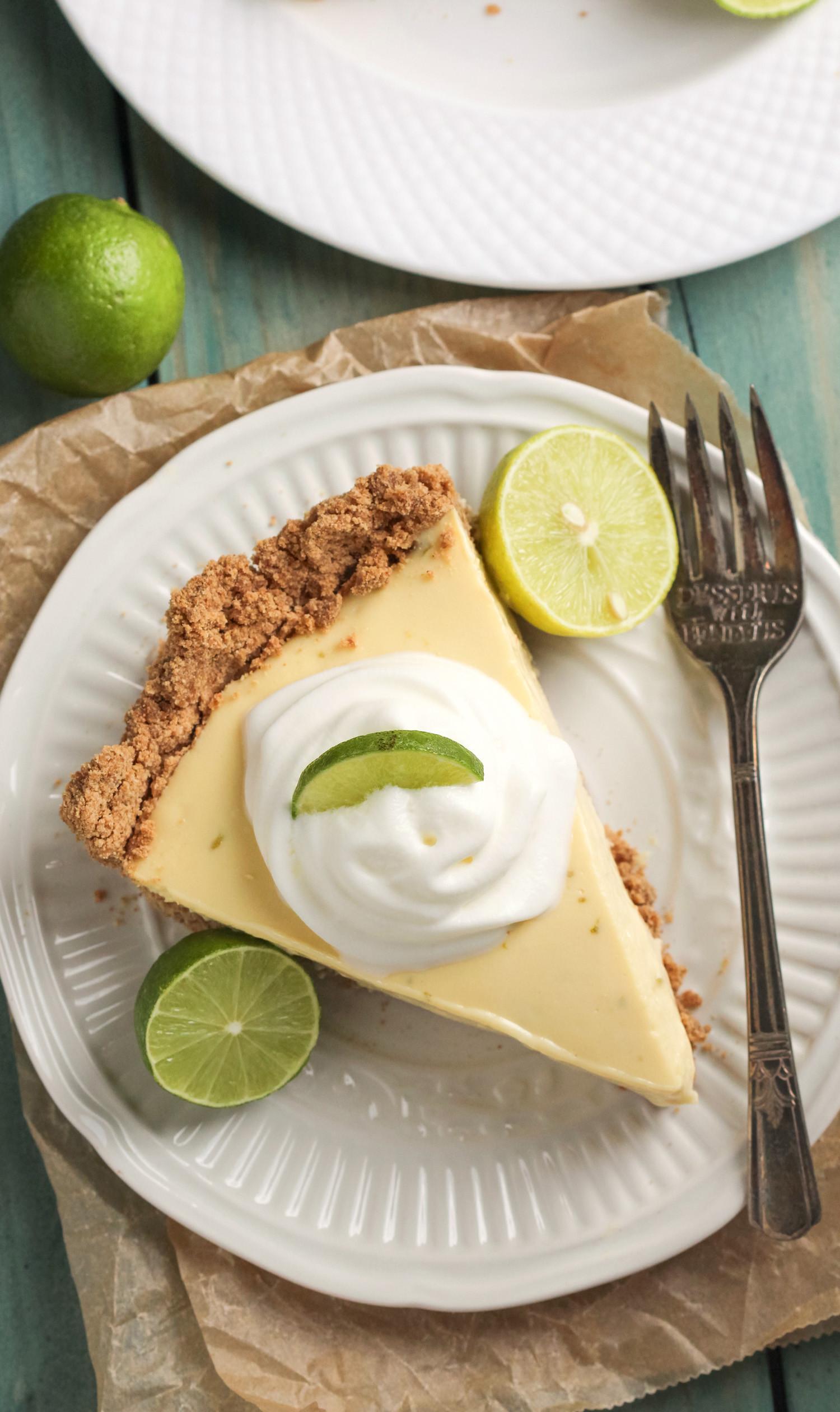 Healthy Key Lime Pie Recipe  Healthy Key Lime Pie – Clean Lean