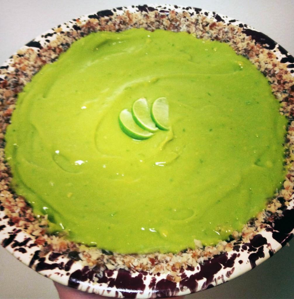 Healthy Key Lime Pie Recipe  Healthy Key Lime Pie Recipe with a Macadamia Nut Crust