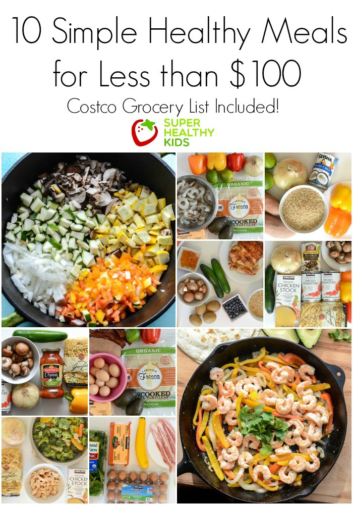 Healthy Kid Dinners  10 Simple Healthy Kid Approved Meals from Costco for Less