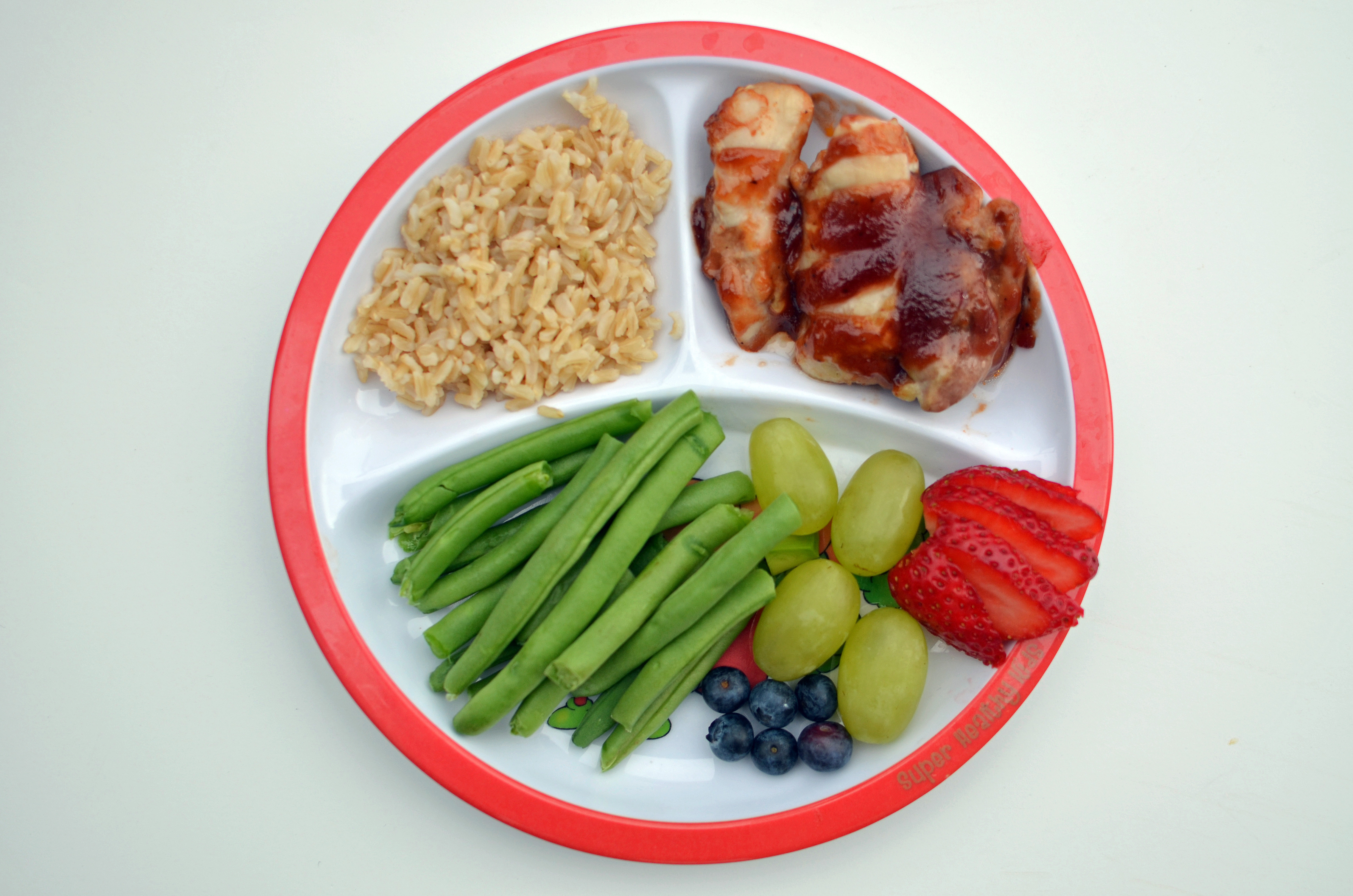 Healthy Kid Dinners  Guide to Toddler Portion Sizes