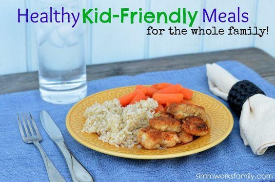 Healthy Kid Friendly Chicken Recipes  Pinterest • The world's catalog of ideas