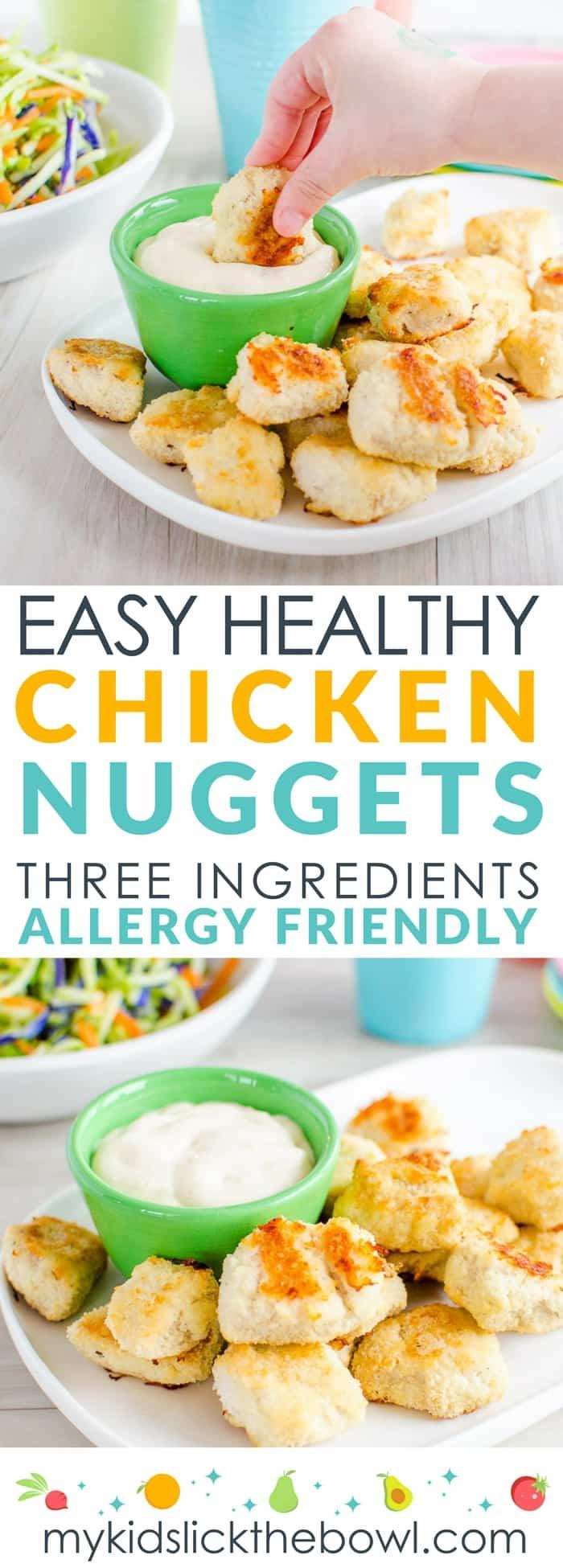 Healthy Kid Friendly Chicken Recipes  Easy Healthy Chicken Nug s