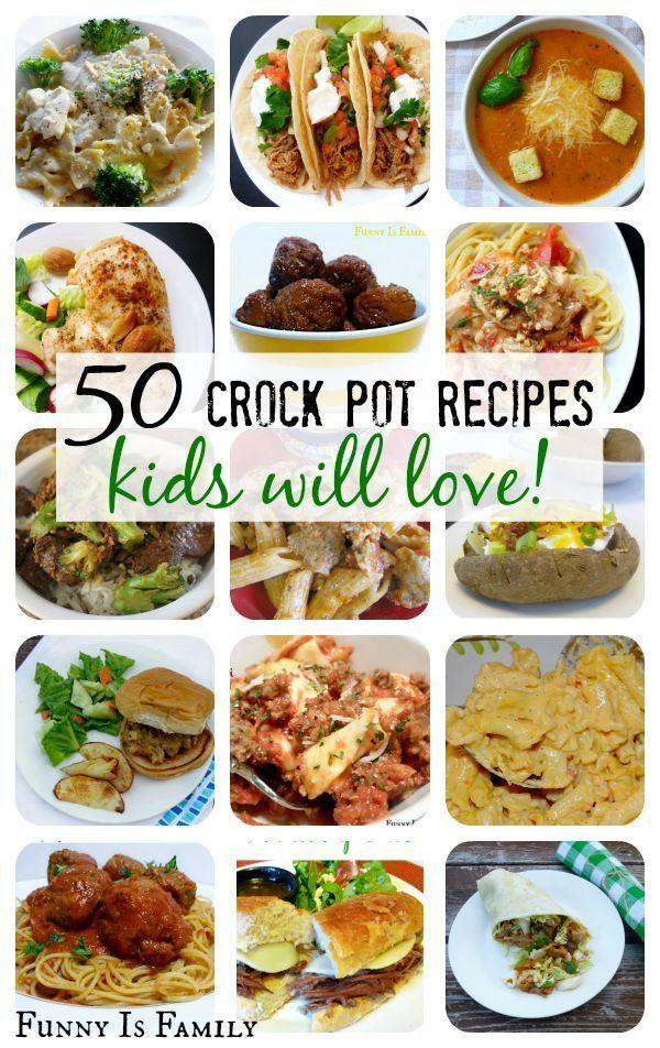 Healthy Kid Friendly Crock Pot Recipes  Crock Pot Recipes Kids Will Actually Eat
