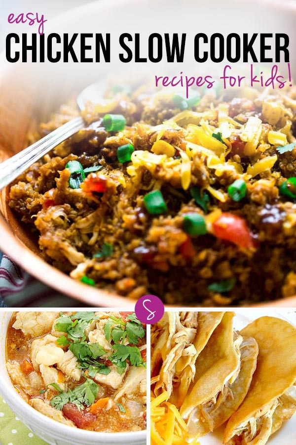 Healthy Kid Friendly Crock Pot Recipes  Easy Chicken Slow Cooker Recipes for Kids and Dads