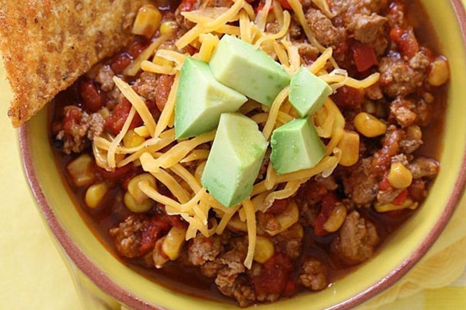 Healthy Kid Friendly Crock Pot Recipes  Slow Cooker Turkey Chili Hello HealthyHello Healthy