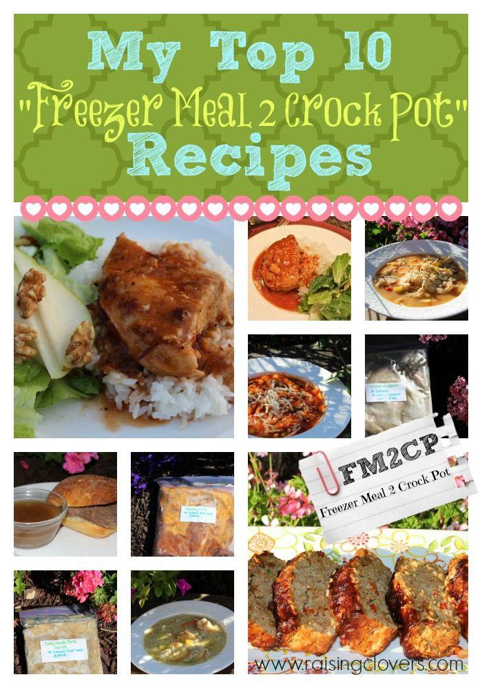 Healthy Kid Friendly Crock Pot Recipes  My Top 10 Freezer Meal 2 Crock Pot Recipes