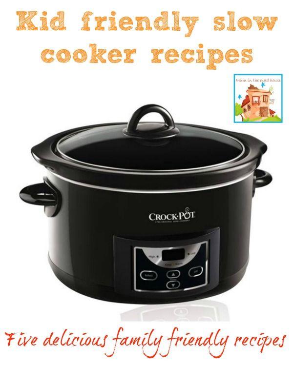 Healthy Kid Friendly Crock Pot Recipes  87 best images about CROCK POT RECIPES on Pinterest