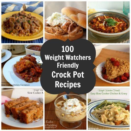 Healthy Kid Friendly Crock Pot Recipes  100 Weight Watchers Friendly Crock Pot Recipes