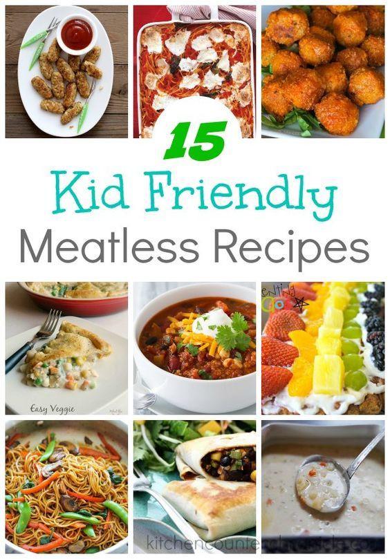 Healthy Kid Friendly Dinner Recipes  15 Kid Friendly Meatless Recipes