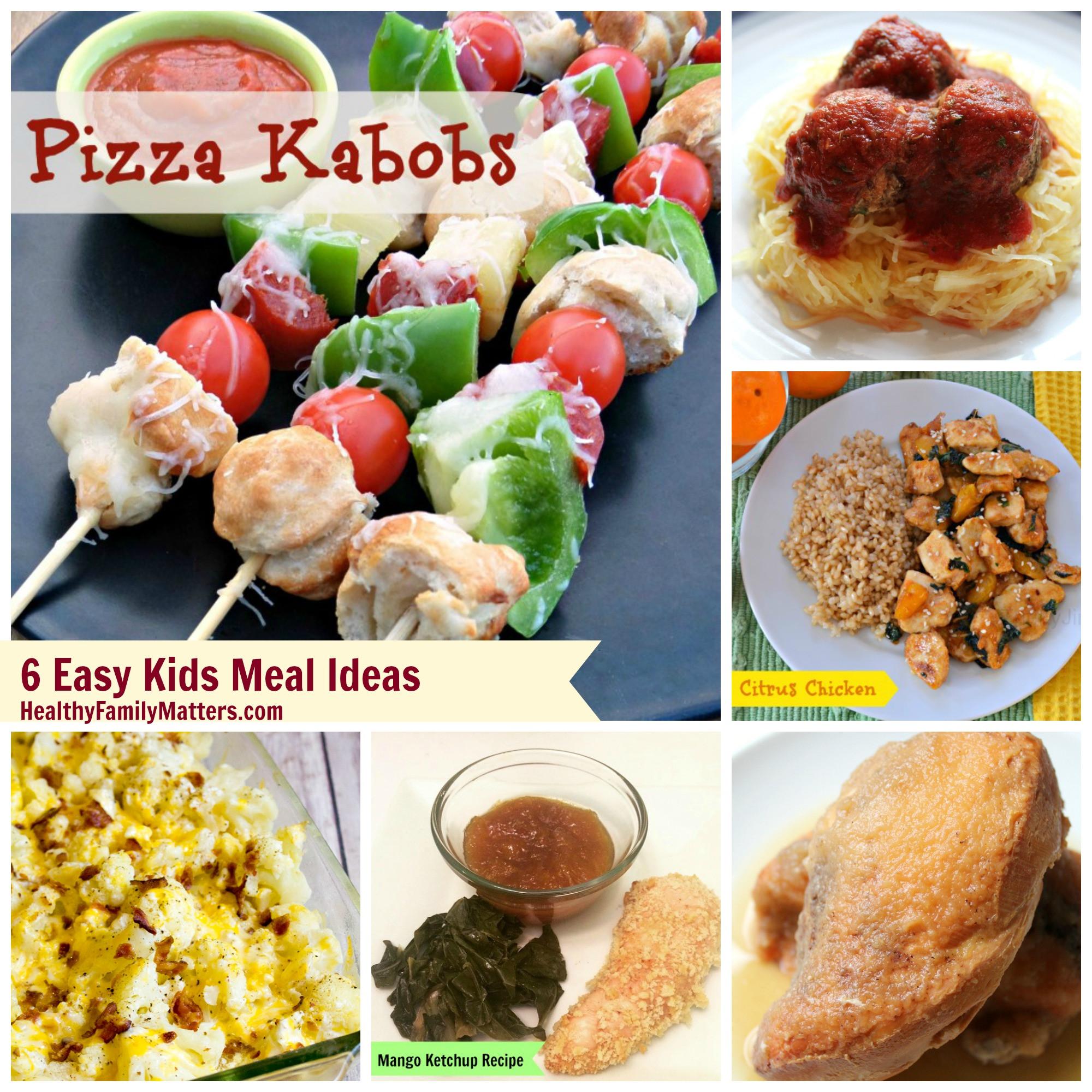 Healthy Kid Friendly Dinner Recipes  Kids Meal Ideas Including Kid Friendly Mango Ketchup Recipe