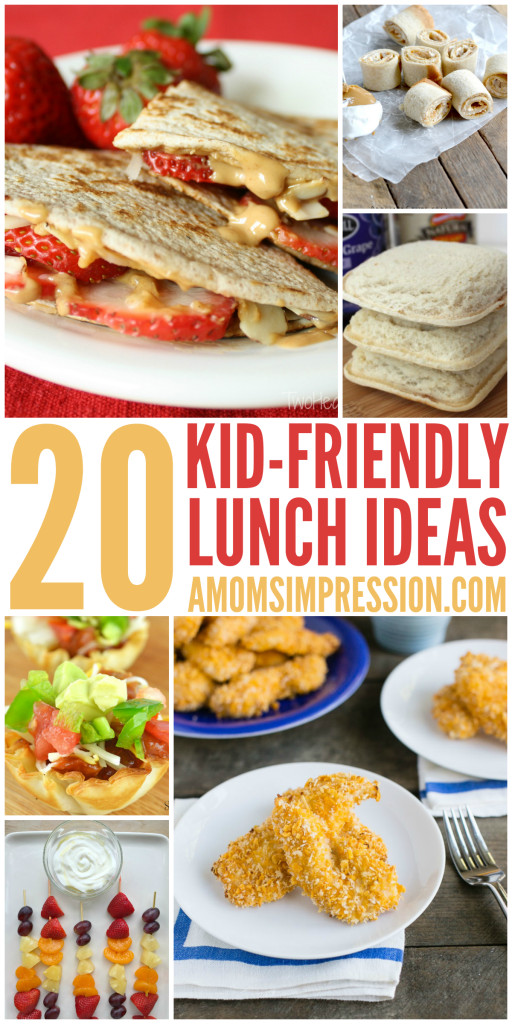 Healthy Kid Friendly Lunches  20 Kid Friendly Lunches Your Child will ask you to Make