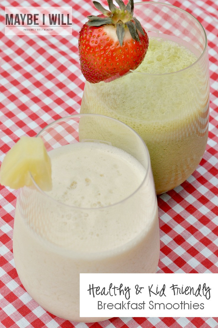 Healthy Kid Friendly Smoothies  Healthy AND Kid Friendly Breakfast Smoothies