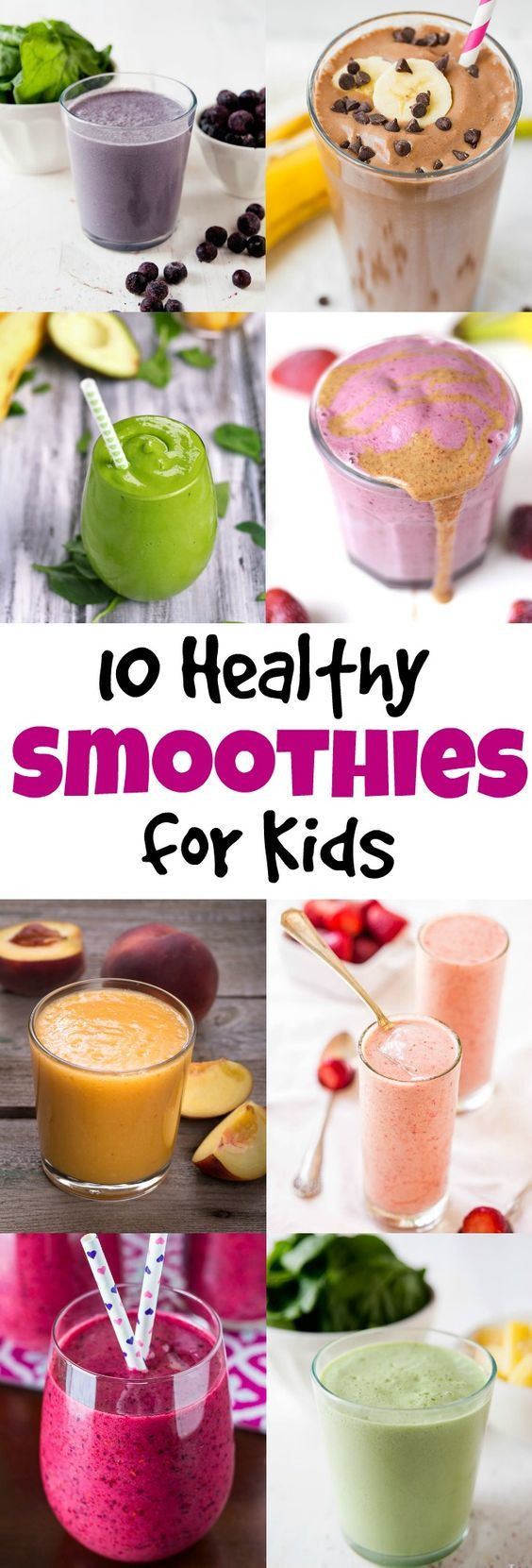 Healthy Kid Friendly Smoothies  10 Healthy Smoothies for Kids