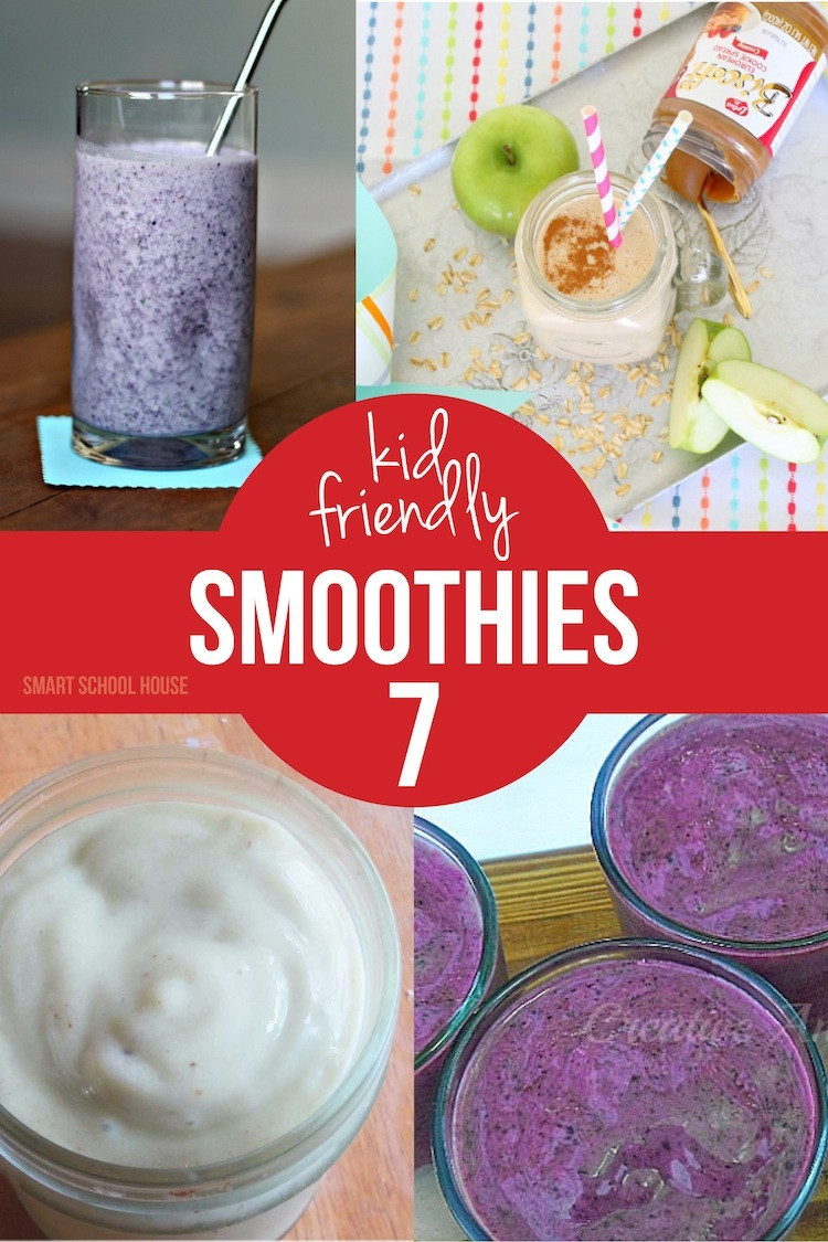 Healthy Kid Friendly Smoothies  Smoothies for Kids